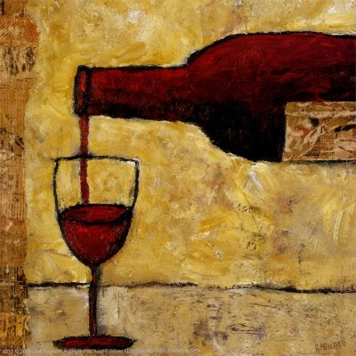 Quadro de vinho