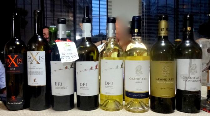 Degustação de vinhos portugueses DFJ Vinhos