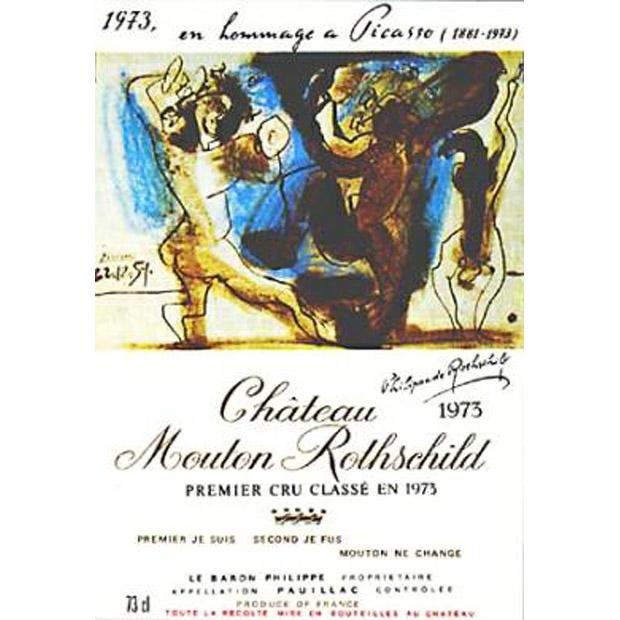 Château Mouton Rothschild e a Arte