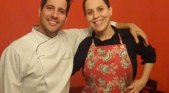 Menu a Quatro Mãos une os Chefs Priscilla Herrera e André Castro