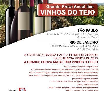 Um evento imperdível de vinhos do Tejo, Portugal